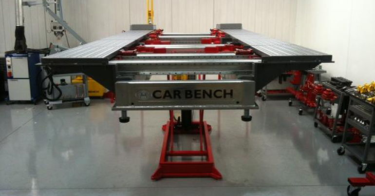banco di riscontro Car Bench